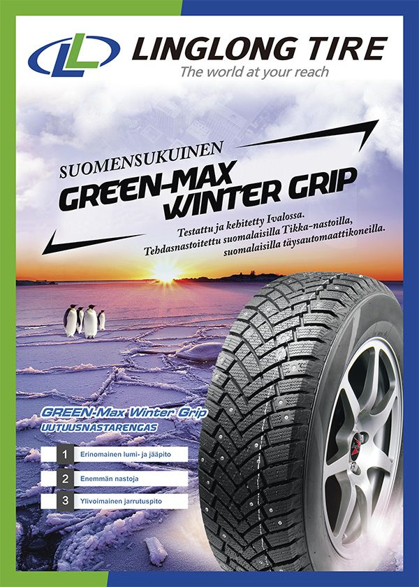 205/55R16 94T Linglong Winter Grip